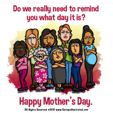 12 Steps Illustrated Mother's Day