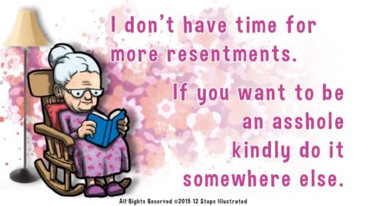 more resentments